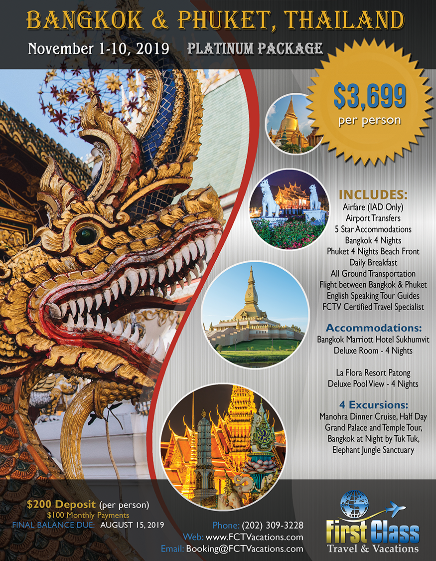 Bangkok / Thailand (Platinum Package)